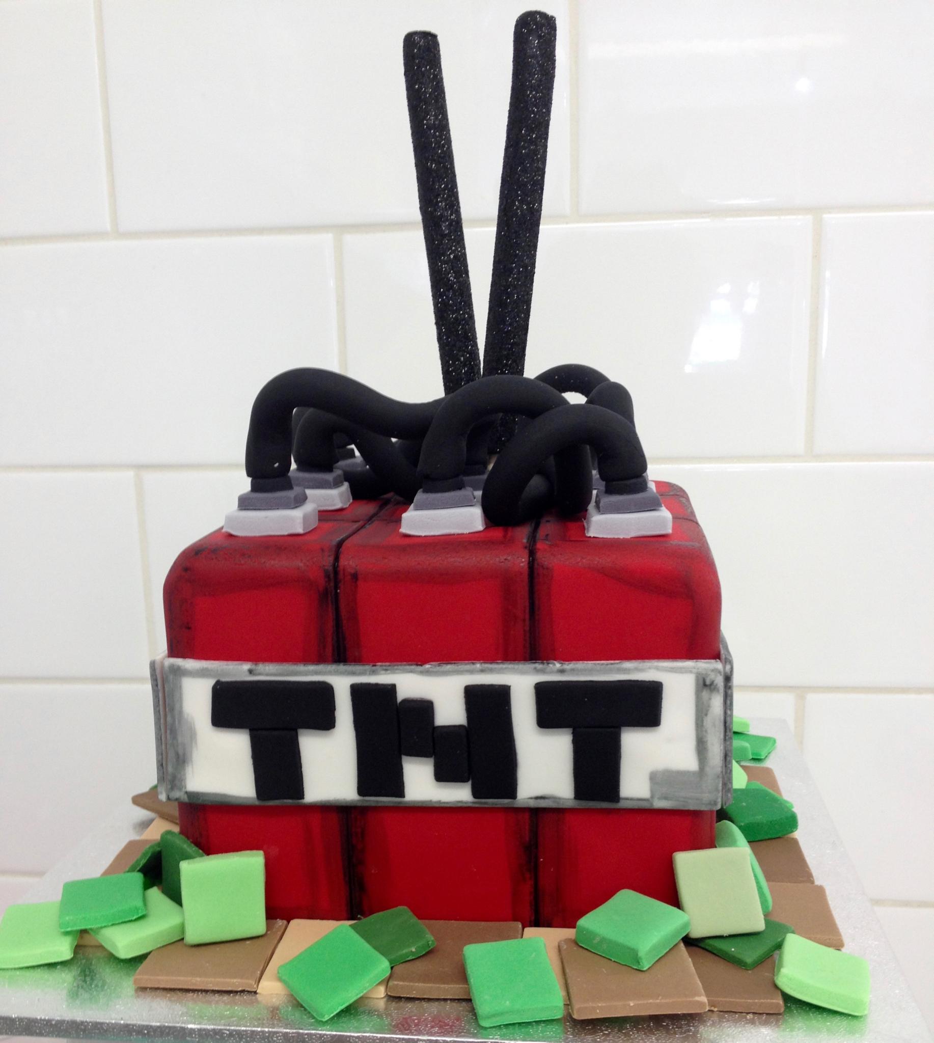 Gamer Fun Birthday Cake