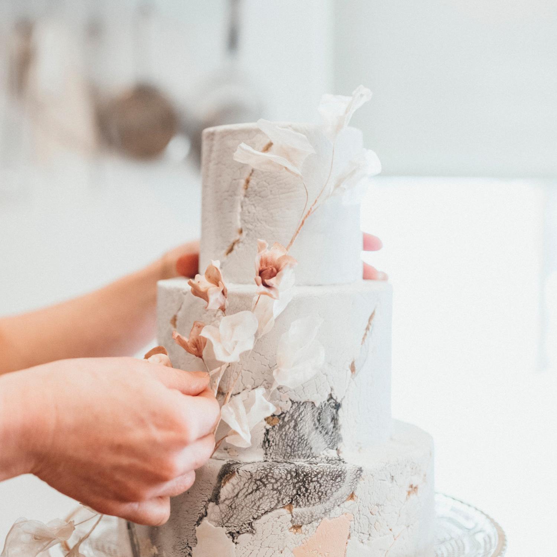 Beautiful Whistler Wedding cake