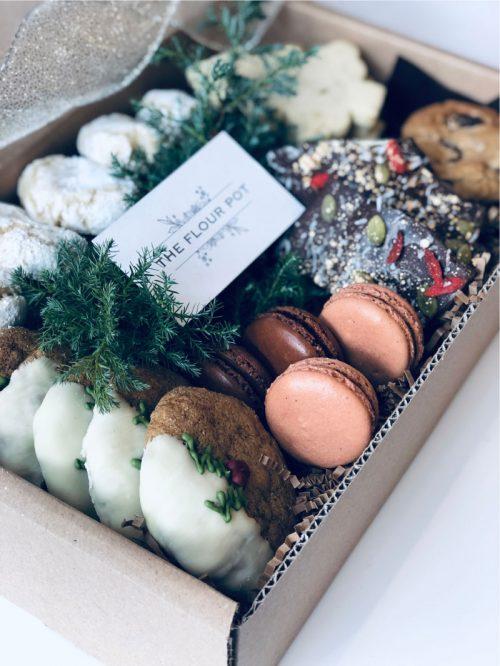 Gourmet Cookie Box Christmas Cookies